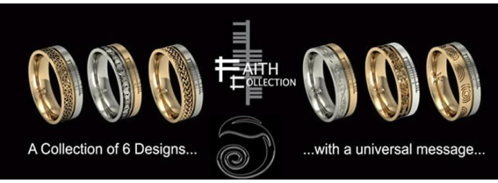Faith Wedding Rings