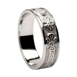 Silver Celtic Cross Ring