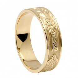 Gold Celtic Cross Ring