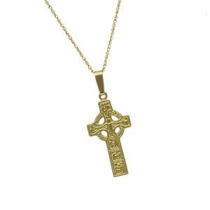 10K Gold Duleek Cross
