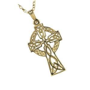 Gold Medium Filigree Celtic Cross