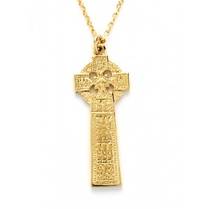 Gold Ogham Drumcliffe High Cross