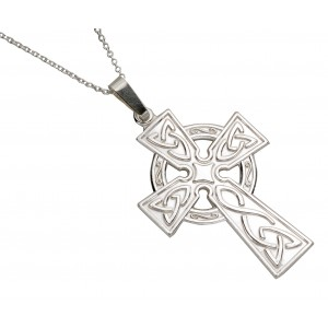 Silver Large Celtic Cross