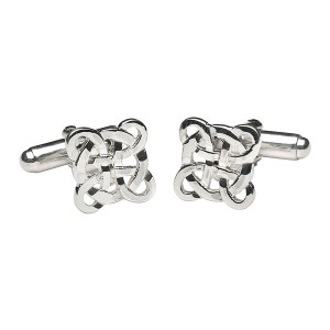 Filigree Celtic Cross Cuff Links