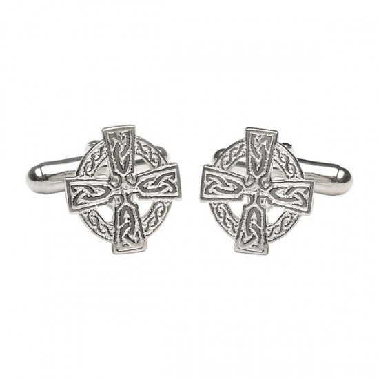 Celtic Cross Cuff Links