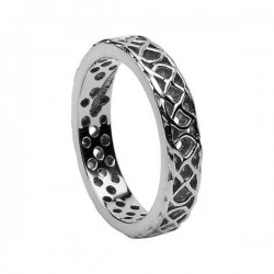 Silver Open Celtic Knot Ring
