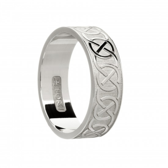 Gold Ladies and Gents Celtic Knot Wedding Rings