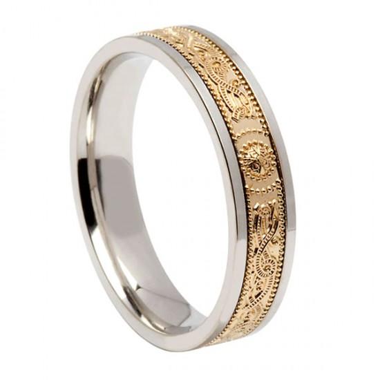 Gold Signature Warrior Wedding Ring