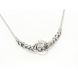 Silver Classic Children of Lir Necklace
