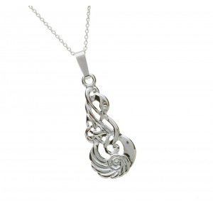 Silver Classic Children of Lir Pendant