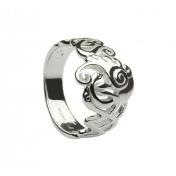 Silver Classic Children of Lir Ring