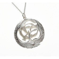 Classic Silver Children of Lir Pendant