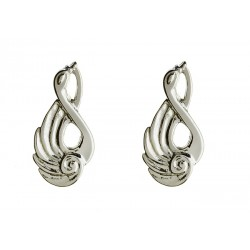 Silver Children of Lir Stud Earrings