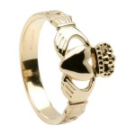 Gold Gents Claddagh