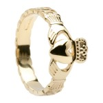 Gold Ladies Claddagh