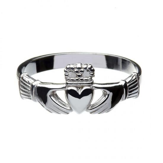 Gold Heavy Claddagh Ring
