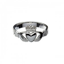 Silver Gents Claddagh