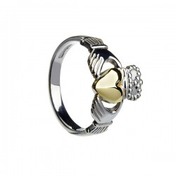 Gents Heavy Claddagh Ring