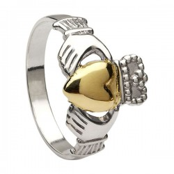 Ladies Heavy Claddagh Ring