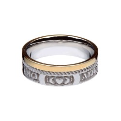 My Soul Mate Gold Faith Wedding Ring