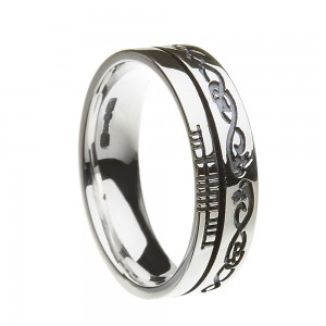 Sterling Silver Together Le Chelie Faith Wedding Ring