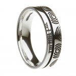 Sterling Silver Newgrange Faith Wedding Ring