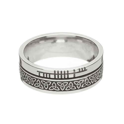 at com the celticpromise inspiration wedding irish celtic alphabet x rings behind modern of ancient ogham scriptthe photo jewelry design