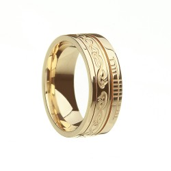 Gold Together Faith Wedding Band
