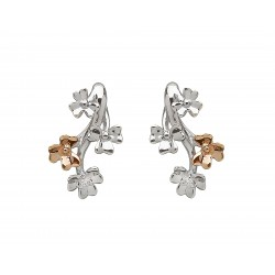 Irish Love Shamrock Stud Earrings