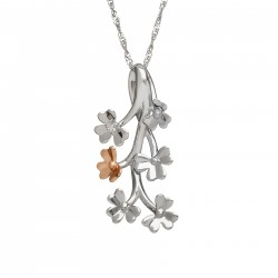Irish Love Shamrock Pendant