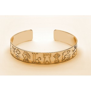 Impressions of Ireland Gold Bangle