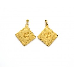 Impressions of Ireland Gold Earrings