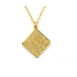 Impressions of Ireland Gold Pendant