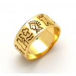 Impressions of Ireland Gold Story Ring