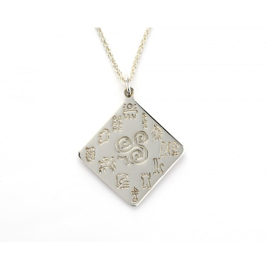 Impressions of Ireland Silver Pendant