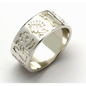 Impressions of Ireland Silver Story Ring