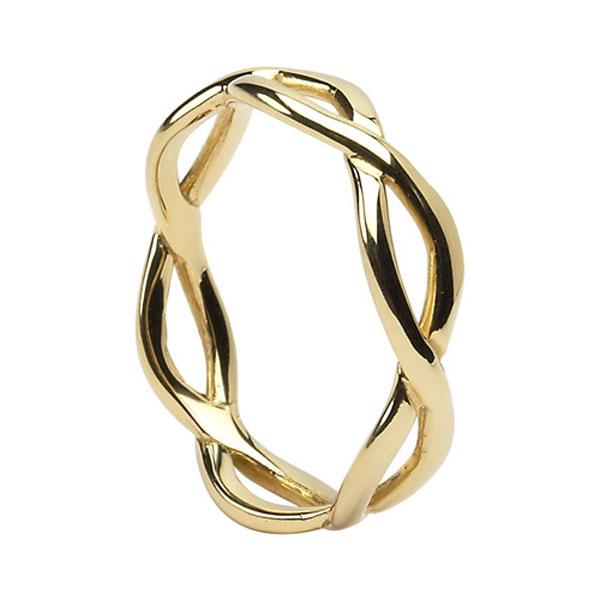 Children Of Lir Gold Ring