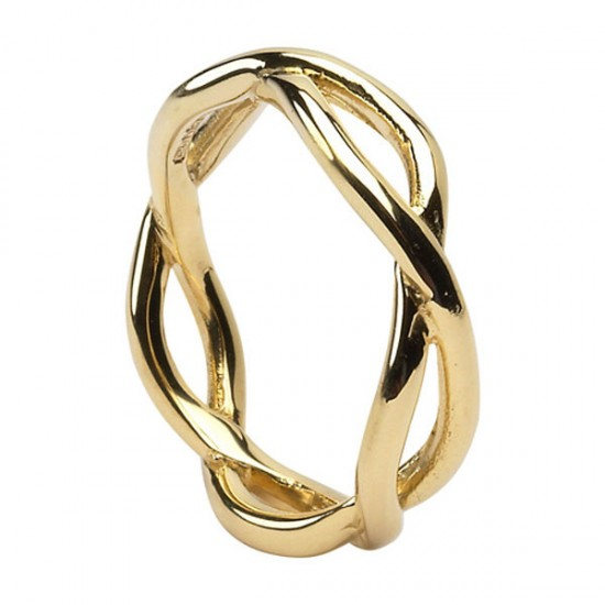 Gold Inifinty Ring