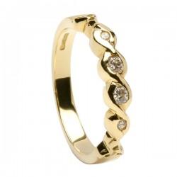 Gold Eternity Diamond Ring