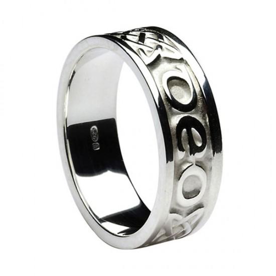 Silver Love Forever - Gra Go Deo - Irish Wedding Ring