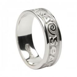 Bright Love of My Heart - Gra Geal Mo Chroi - Irish Wedding Ring