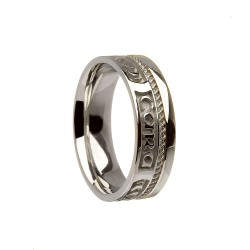 Sterling Silver Mo Anam Cara Wedding Ring